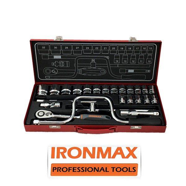 ironmax tools 600x600 - جعبه بکس 24 پارچه آیرون مکس
