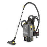 backpack vacuum cleaner 185x185 - جاروبرقی کوله ای مدل BV 5/1 کارچر ، دستگاه جاروبرقی صنعتی کوله ای karcher