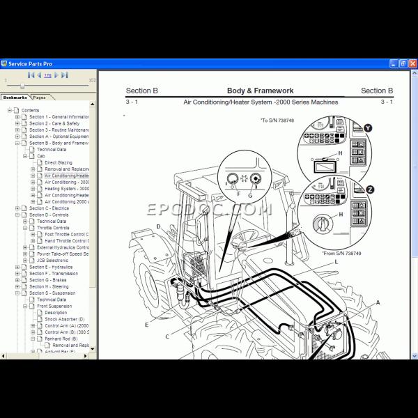 jcb compact service manual 2 1 600x600 - نرم افزار کاتالوگ قطعه یابی JCB Compact Service Manual