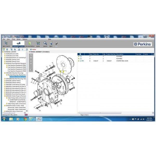 perkins spi2 2 600x600 - نرم افزار کاتالوگ راهنمای تعمیرات و قطعه یابی Perkins SPI2